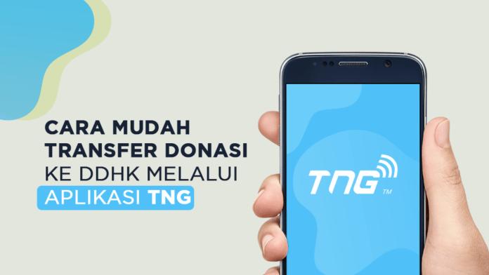 Cara Mudah Transfer Donasi ke DDHK melalui Aplikasi TNG