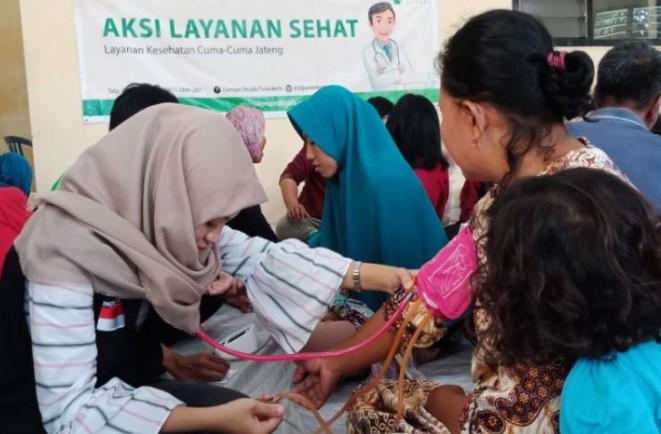 DD Jateng Berikan Layanan Medis Gratis untuk Korban Banjir di 3 Kabupaten