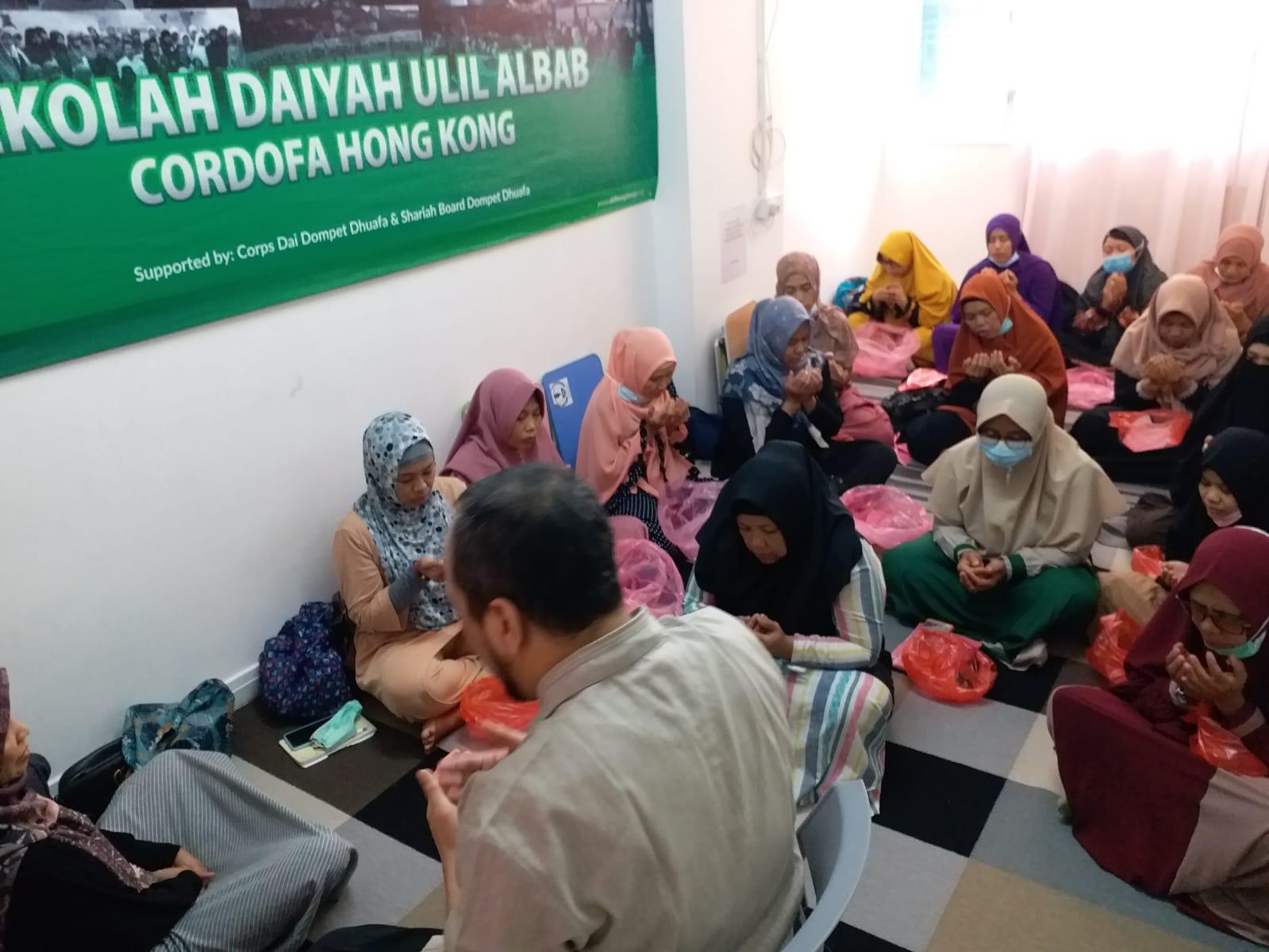 Berikan Pelatihan, DDHK Siapkan Peruqyah untuk Pekerja Migran di Hong Kong