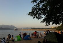Ma On Shan Beach, A Cool Place To Relax