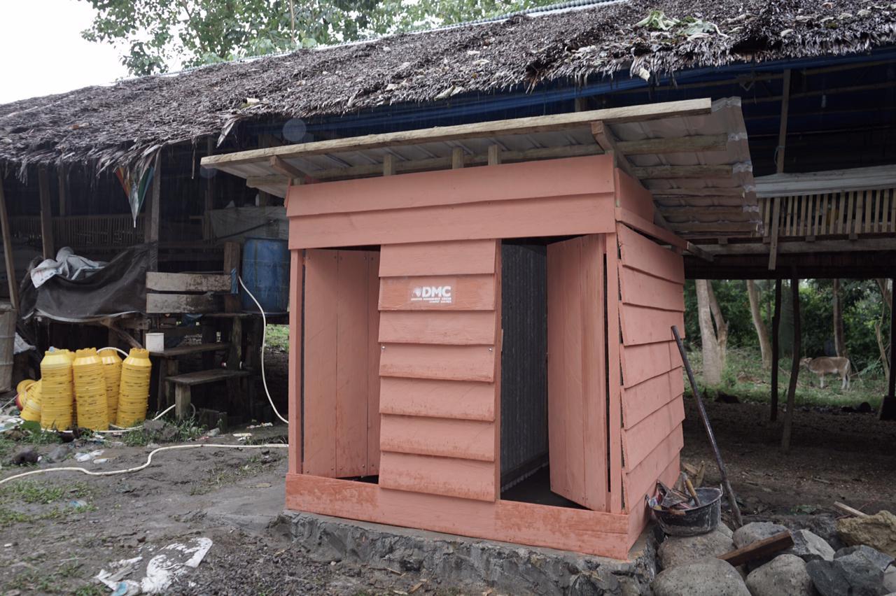DMC Dompet Dhuafa Bangun Sumur Bor dan MCK di Lokasi Gempa Mamuju