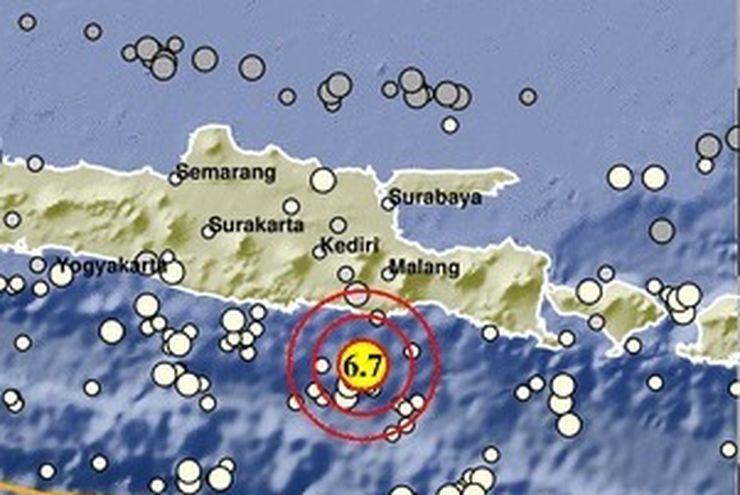 Gempa Malang Dirasakan di 18 Kabupaten dan Kota di Jawa Timur, 1 Orang Tewas