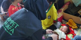 Dompet Dhuafa Open Public Kitchen to Health Services in Flood Locations in NTT