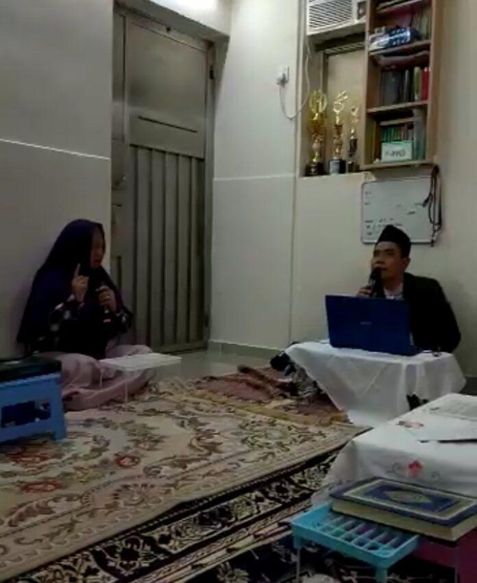 Seorang pekerja migran asal Filipina bernama Lilibeth Olaer, pada hari Ahad, 2 Mei 2021 lalu, resmi masuk Islam. Ia bersyahadat, dibimbing oleh Ustadz Mahmud