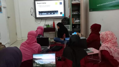 Manfaatkan Laptop Donasi Wardah Cosmetics, DDHK Buka Lagi Kelas Komputer